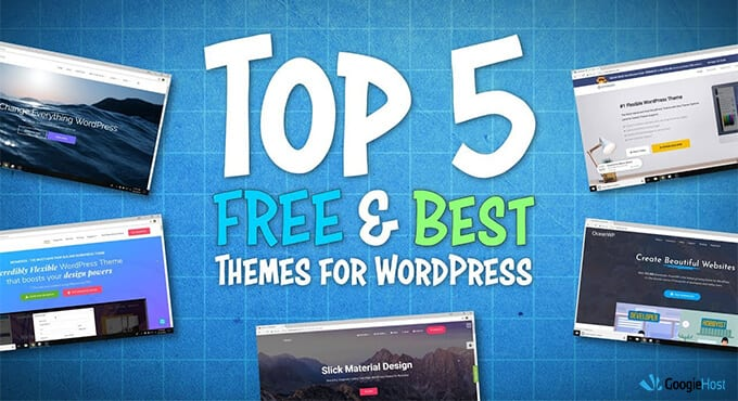 What is the most popular free WordPress theme