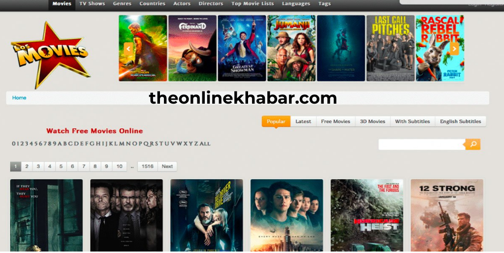 LosMovies has unlawfully leaked movies of several languages including Tamil, Hindi, Kannada, Malayalam, and English movies dubbed in English. Some famous movies are The Revenant, Forrest Gump, Green Mile, Gone Girl, Inception, Fast and Furious and more. Recently the site has been convicted of leaking movies like Bird of Prey, Joker, The Lion King, and more movies have also been leaked by this illegal website.