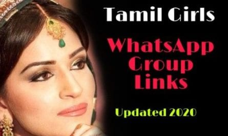 Whatsapp Groups - Tamil Girls WhatsApp Group Links 2020 | Tamil WhatsApp Group Links 2020 |