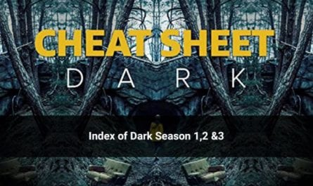 Index of Dark Season 1, 2, & 3 to (With Cast & Season Recap)