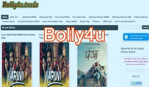 Bolly4u 2020: Bolly4u illegal Bollywood, Hollywood and Hindi dubbed HD Movies Download Website, Latest Bolly4u Movies