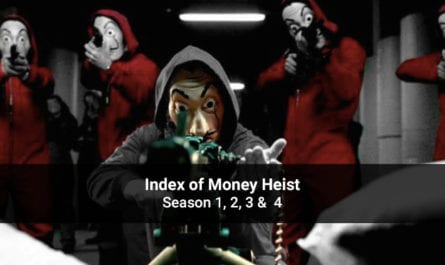 Index of Money Heist Season 1, 2, 3 & 4 – All Episodes, Cast and Plot – Download Offline or Watch online on Netflix App