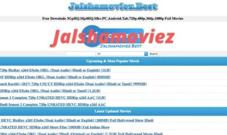 Jalshamoviez 2020: Jalshamoviez.in is an illegal website that offers pirated content for free and its Jalshamoviez users can download illegally Hd Bollywood Movies 2020, Hd Netflix Series 2020 and Hd Hollywood Movies. Jalshamoviez.in has a variety of Jalshamoviez collections of movies 480p Movies, 720p HD Movies, 1080p HD Movies. Jalshamoviez is well-known for its movie collection in different languages Tamil Movies, Telugu Movies that allows the audience to watch and download. Find Latest Jalshamoviez Website news and this article provides A-Z information about Jalshamoviez, so read on to know all details about Jalshamoviez movies download and streaming.