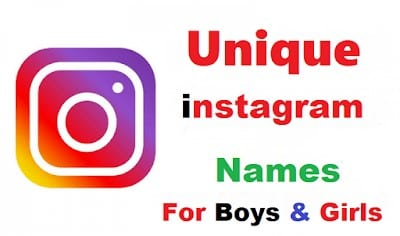 421+ Best Instagram User Name Ideas 2020 For [Boys & Girls]