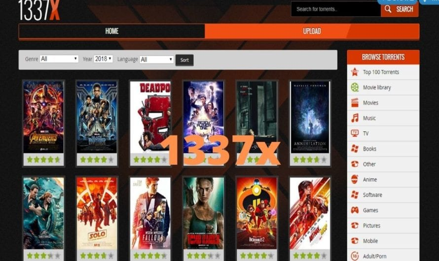 1337x 2020: 1337x Download And Watch Latest HD Movies, TV Series, Download Games, Music Online, 1337x Illegal Website