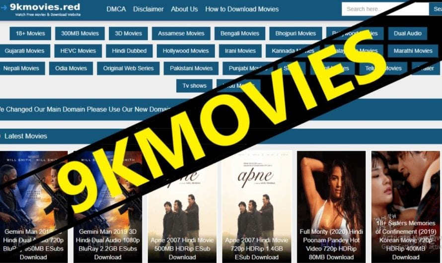 9KMovies 2020 – 9KMovies Movies Download HD 300Mb Movies