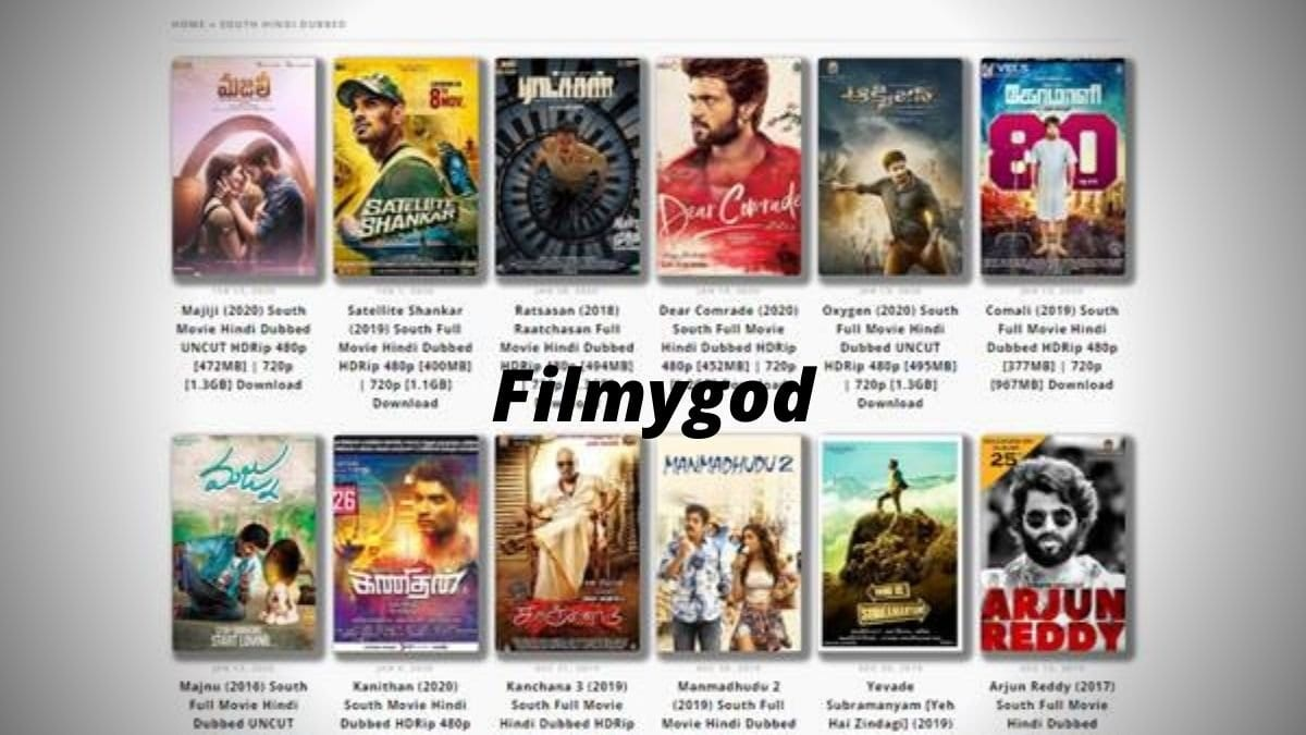 FilmyGod 2020: Filmygod Download Latest Bollywood, Hollywood 480p 720p HD Movies Illegally, Filmygod.in Online Movies Website