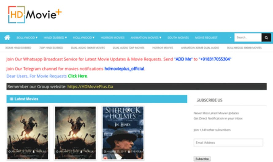 Hdmovieplus 2020 – Hdmovieplus Movies Download HD, Latest online Hdmovieplus Illegal Website