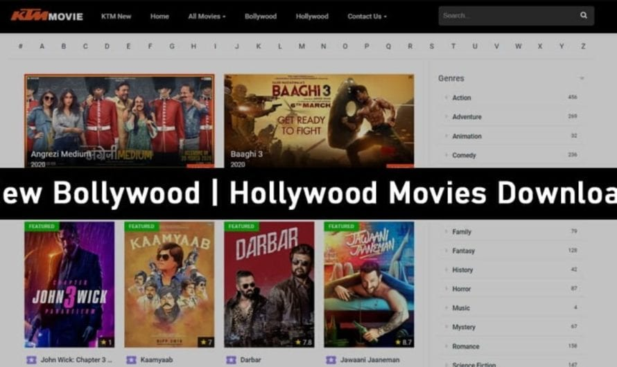 KTM Movie 2020 – KTM Movies Illegal HD Movies Download, KTMMovie South, Bollywood, Hollywood Hindi Dubbed HD Movies Download