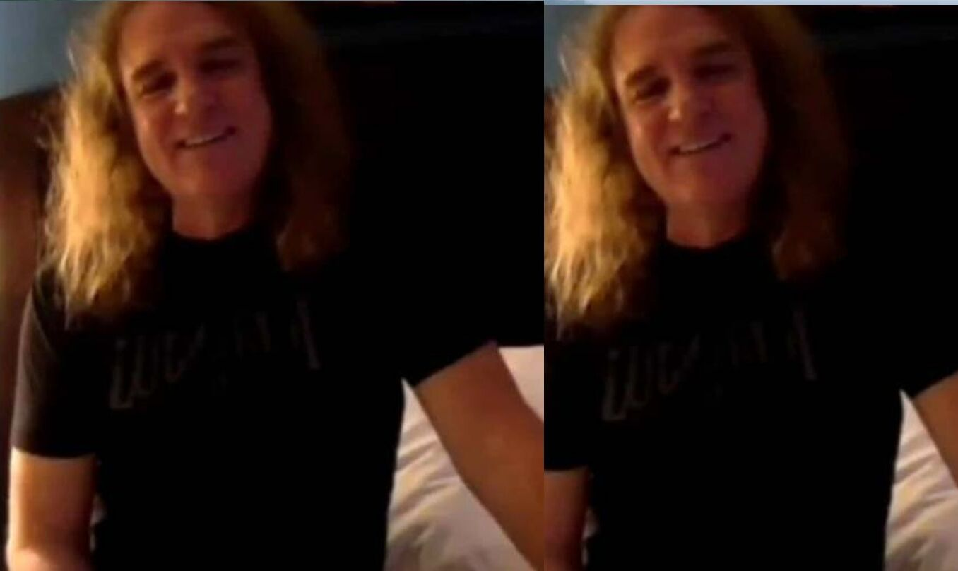 David Ellefson Caught Grooming a Young Girl in The Leaked Videos and Video Calls