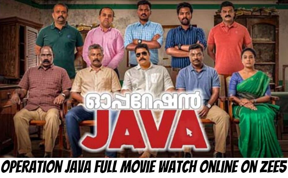 Operation Java Full Movie Watch Online On Zee5: Cast, Story, Review, Wiki