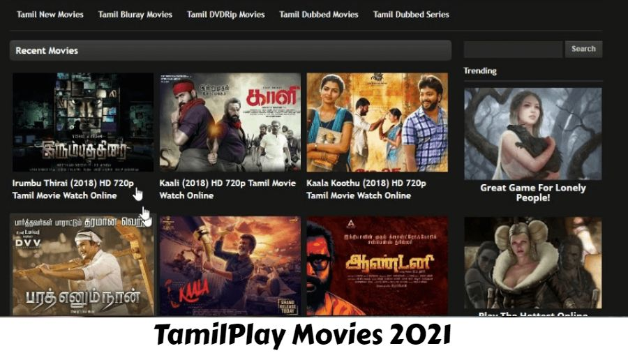 TamilPlay Movies (2021): Tamil HD Movies Download, Mp3 Songs, Dubbed Movies Free Download Website
