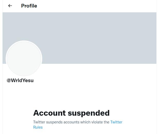 Wrldyesu Twitter page Explored